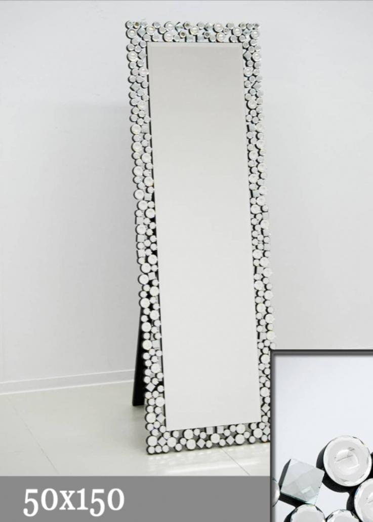 Pastatomas veidrodis (16JZ03-ST) 50-150cm - 388€