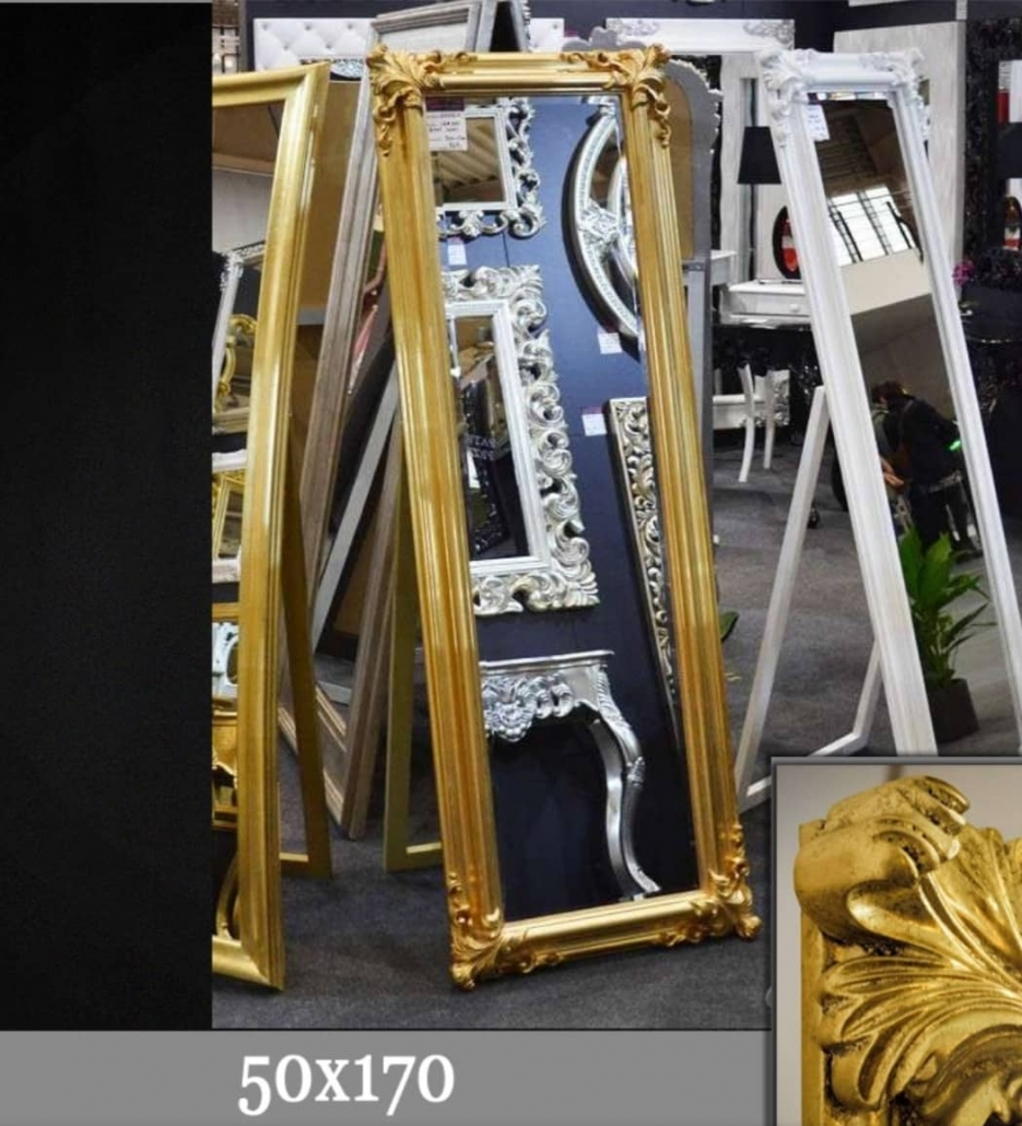 Pastatomas veidrodis (202) 70x90cm - 151€
